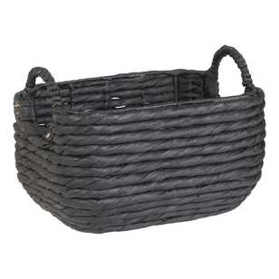 Living Space Woven Rectangular Basket