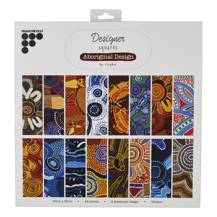 Francheville Jijaka Aboriginal Design Paper Pad