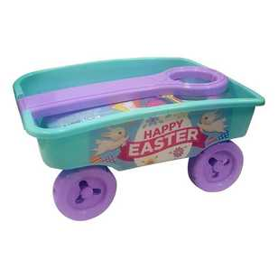 Daisy Chain Pull-Along Craft Wagon