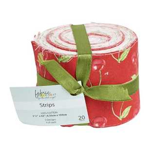 Cherries Jelly Roll 20 Piece