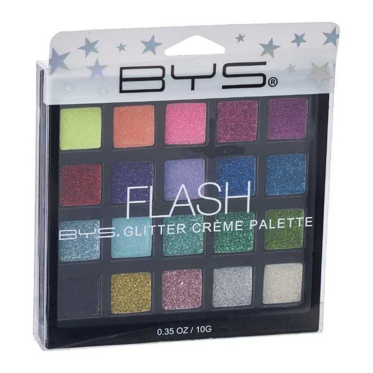 BYS Flash Glitter Creme Palette