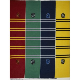Harry Potter Scarf Fleece Panel