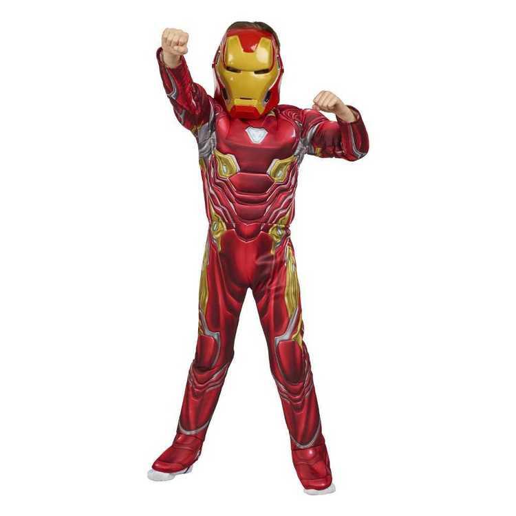 Marvel Iron Man Deluxe Infinity War Costume
