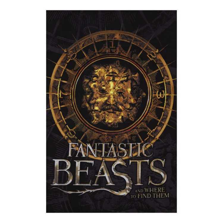 Fantastic Beasts Fleece Panel