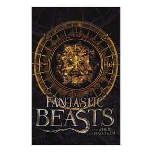 Fantastic Beasts Fleece Panel