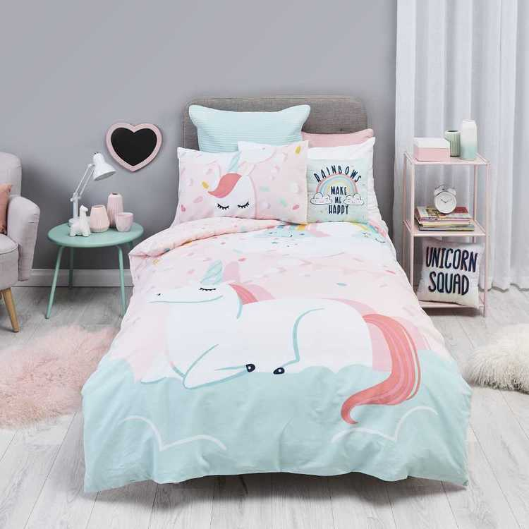 KOO Kids Unicorn Dream Quilt Cover Set