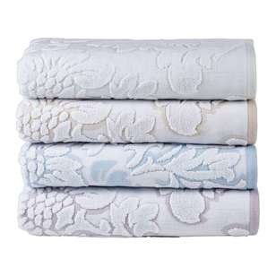 KOO Elite Floral Jacquard Towel Collection