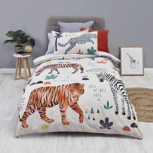 KOO Kids Endangered Species Quilt Cover Set