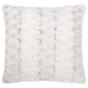 Bouclair Fur Statement Hare Cushion