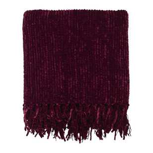 Ombre Home Winter Luxe Chenille Throw