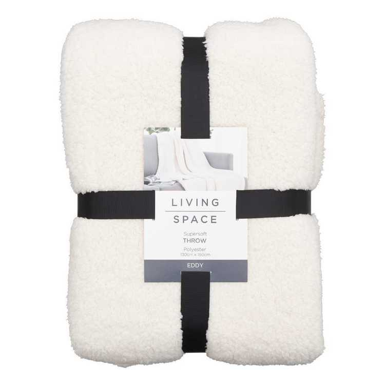Living Space Eddy Supersoft Throw
