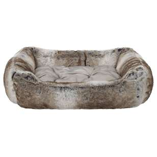 Bouclair Fur Statement Wolf Dog Bed