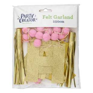 Happy Birthday Felt Garland