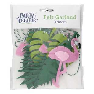 Flamingo Felt Garland