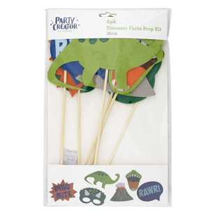 Dinosaur Photo Prop Kit 6 Pack