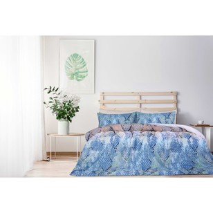 Brampton House Snakeskin Quilt Cover Set - Everyday Bargain