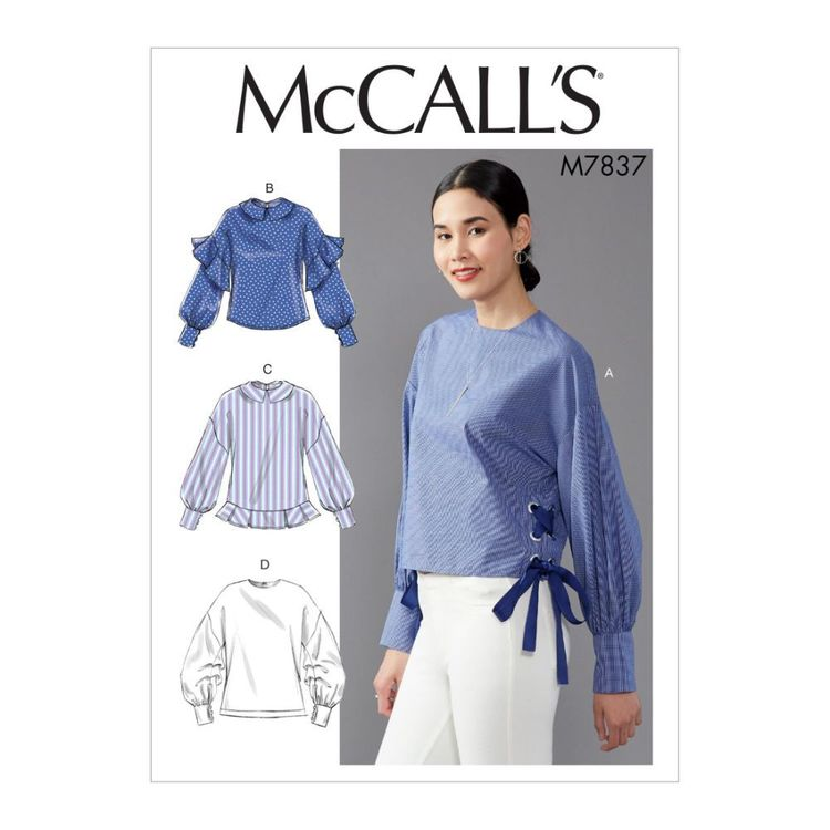 McCall's Pattern M7837 Misses' Top