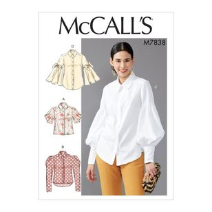 McCall's Pattern M7838 Misses' Tops