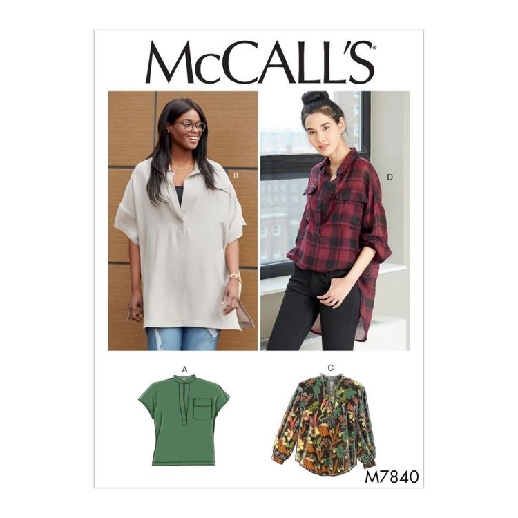 McCall's Pattern M7840 Misses' / Women's Tops