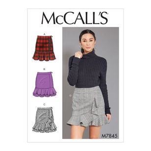 McCall's Pattern M7845 Misses' Skirts