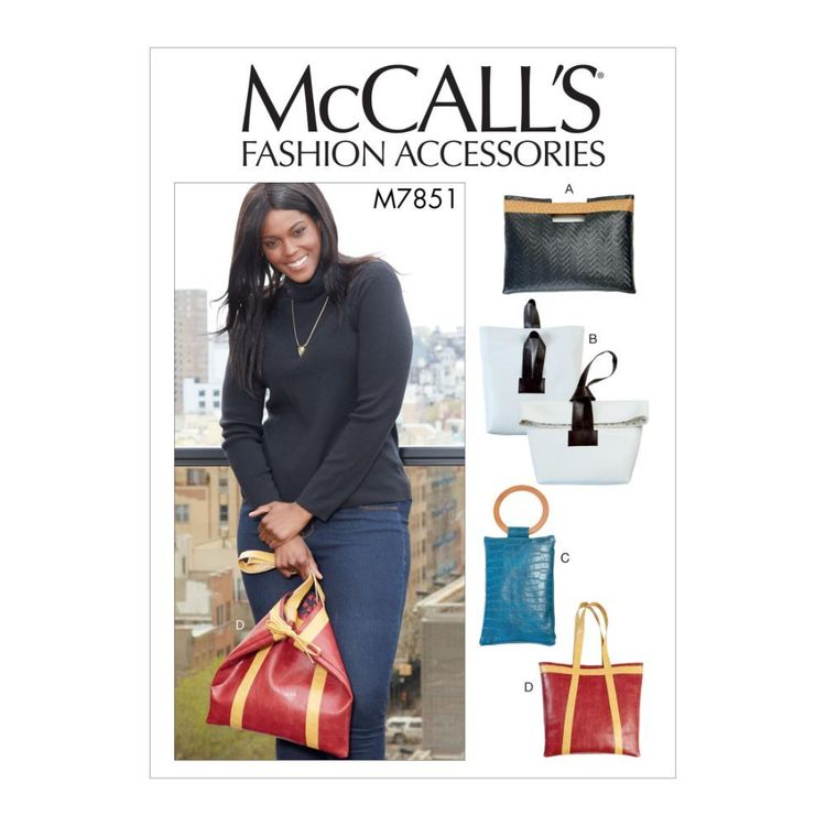 McCall's Pattern M7851 Bags