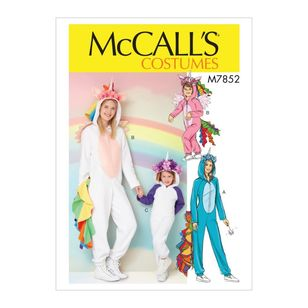 McCall's Pattern M7852 Misses' Costume