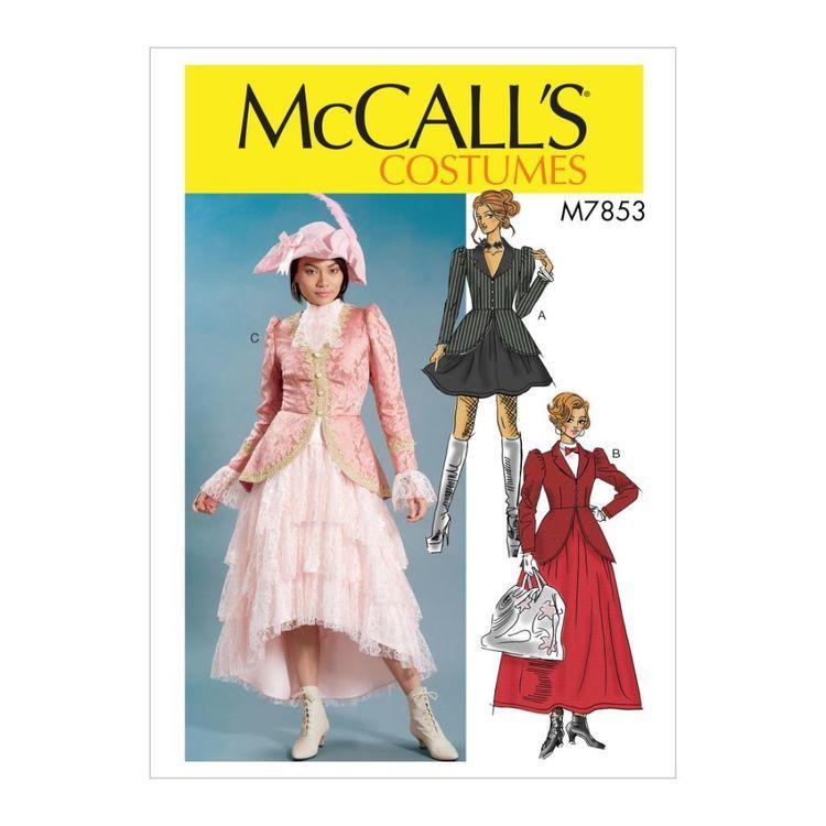 McCall's Pattern M7853 Misses' Costume