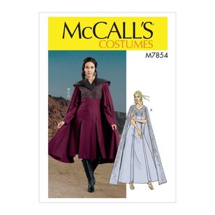 McCall's Pattern M7854 Misses' Costume