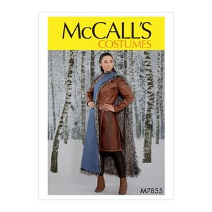 McCall's Pattern M7855 Misses' Costume