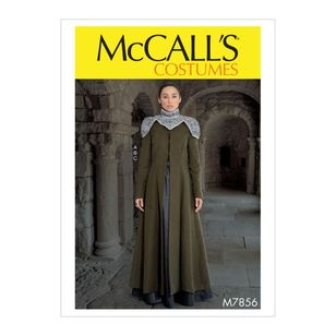 McCall's Pattern M7856 Misses' Costume