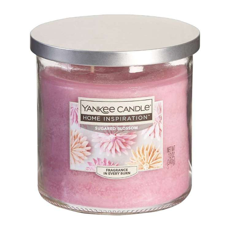 Yankee Suggared Blossom Medium Candle Jar