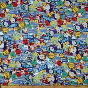 Thomas Patches Jersey Fabric