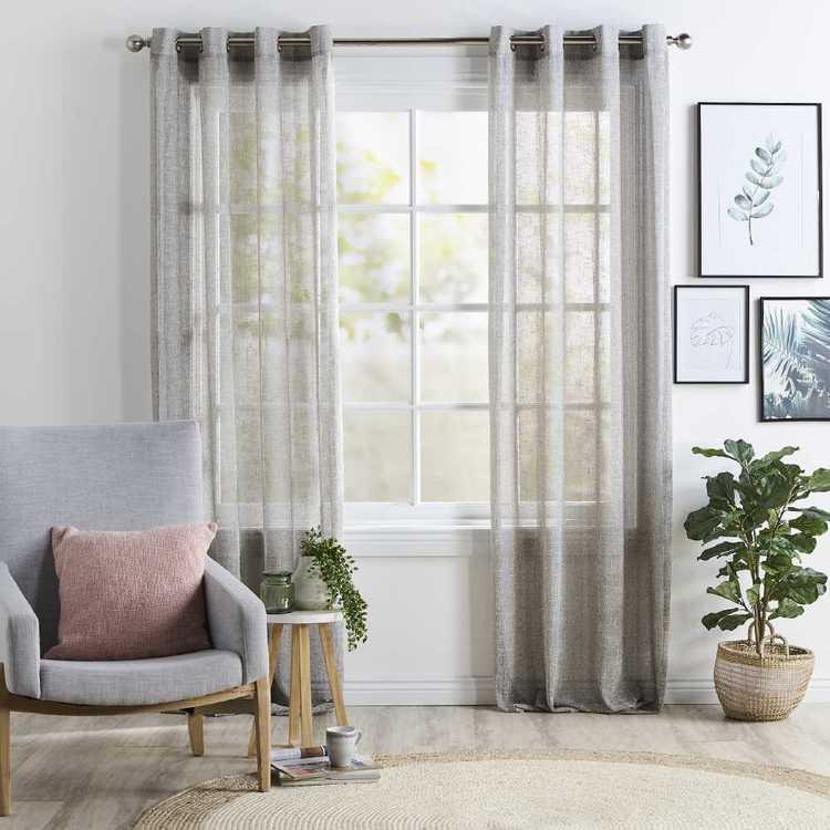 Koo Alps Eyelet Sheer Curtains