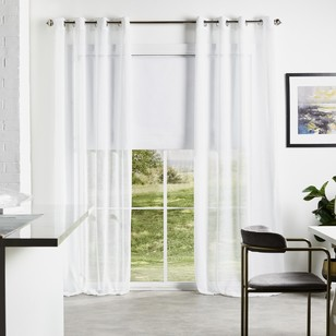 KOO Aspen Eyelet Sheer Curtains