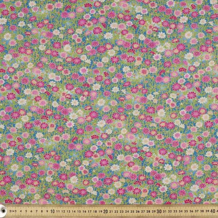 Stems Printed Oriental TC Fabric
