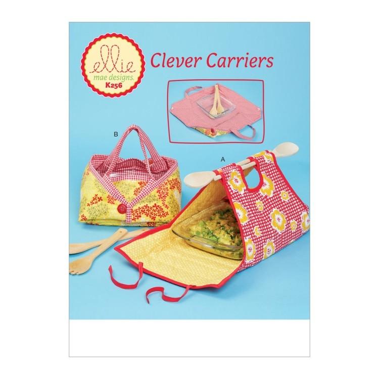 Kwik Sew Pattern K0256 Ellie Mae Designs Casserole Carriers