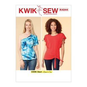 Kwik Sew Pattern K4244 Misses' Tops