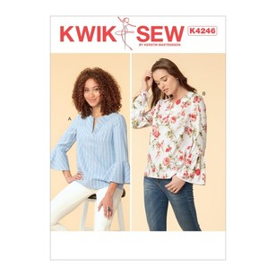 Kwik Sew Pattern K4246 Misses' Tops