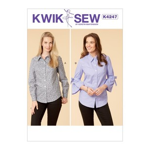 Kwik Sew Pattern K4247 Misses' Shirts