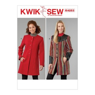 Kwik Sew Pattern K4253 Misses' Jackets