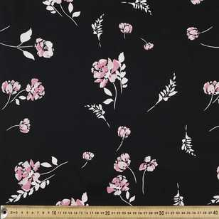 Falling Printed Sateen Fabric