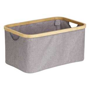 Living Space Bamboo Collapsible Box