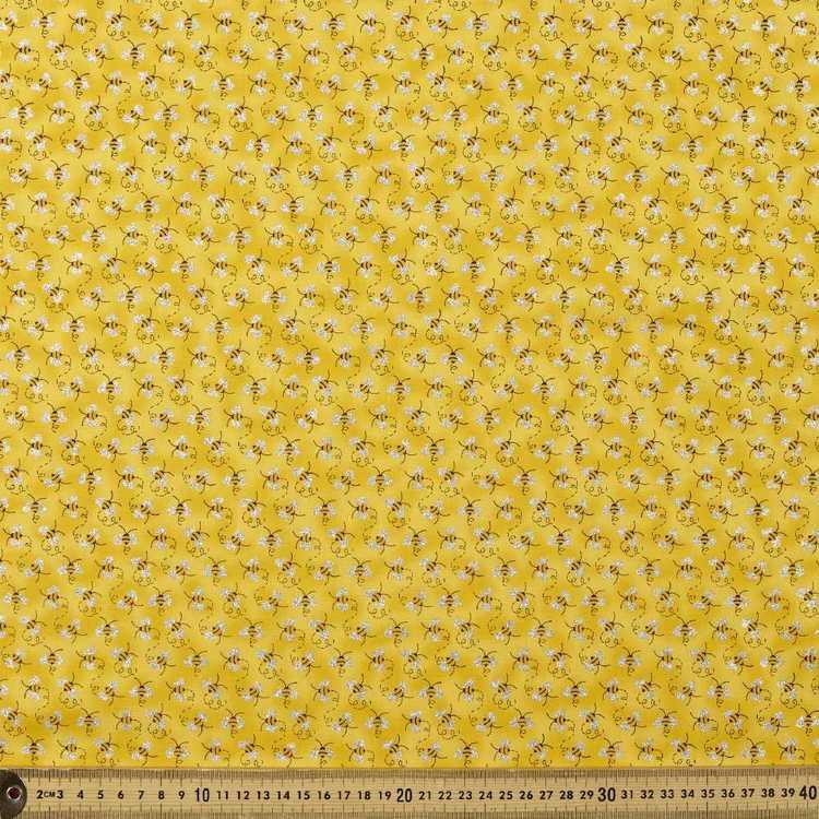112 cm Glitter Buzz Printed Poplin Fabric