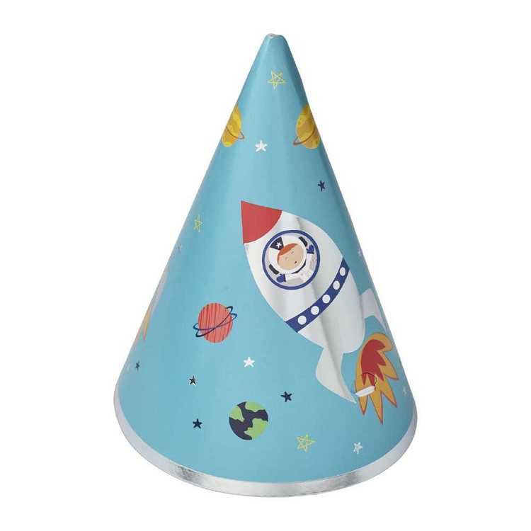 Spaceship Party Hat Multicoloured