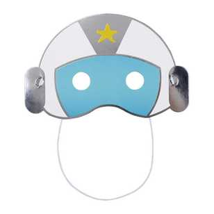 Spaceship Helmet Mask 6 Packk