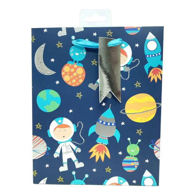 Spaceship Paper Gift Bag
