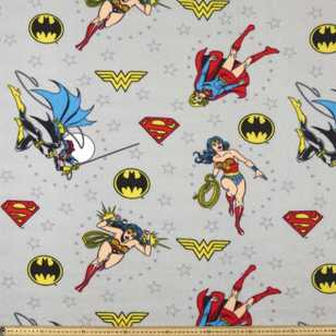 Superhero Girls Fleece Fabric