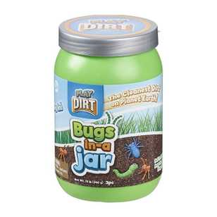 Play Dirt Bugs In-A-Jar 3 Pc Pack
