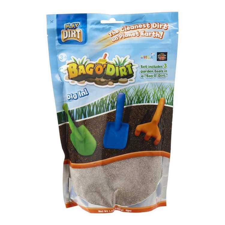 Play Dirt Bag O' Dirt 4 Pc Pack Brown 453 g