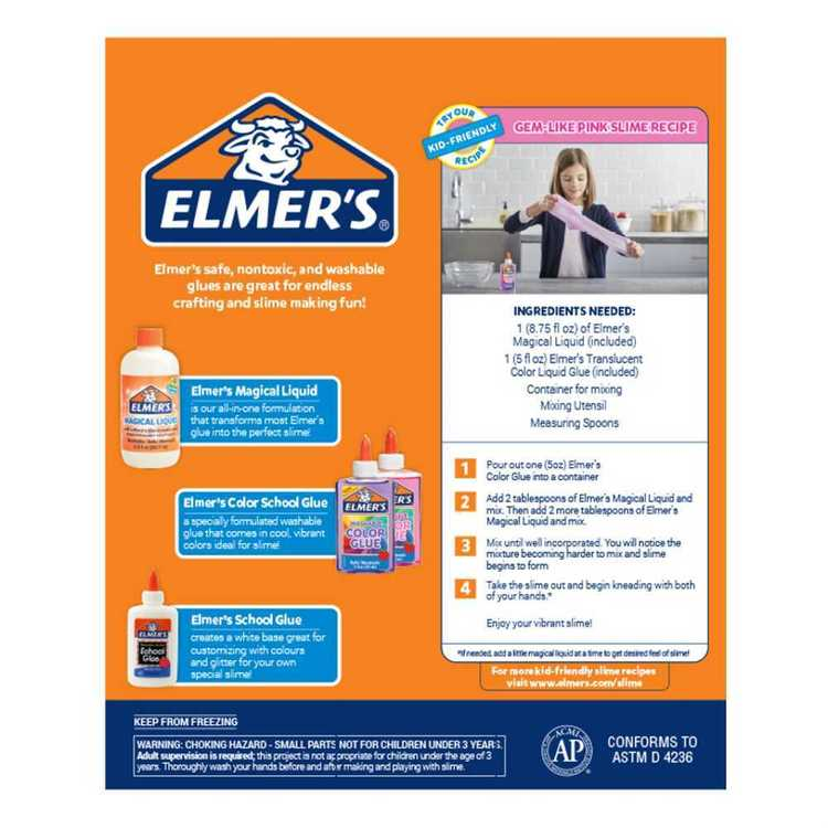 Elmers Super Slime Kit Multicoloured